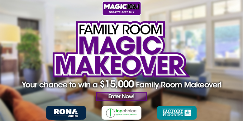 Family Room Magic Makeover