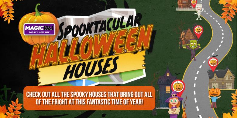 Spooktacular Halloween Houses